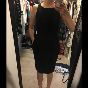 NWOT Woman's Black dress Banana Republic
